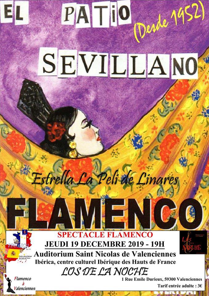 flamenco valenciennes Nord pas de calais picarde Hauts de France Los de la noche