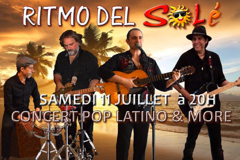 RITMO DEL SOLÉ pop latino lille concert